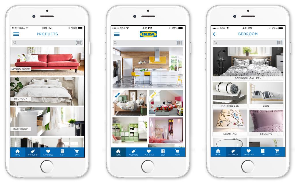 Ux Redesign For Ikea App Virginia Nicholson
